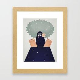 Mole Framed Art Print