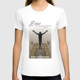 Hope and reality T-shirt