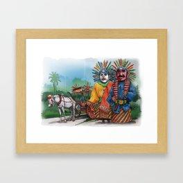 Ondel-ndel Framed Art Print