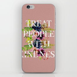 Treat People With Kindness graphic artwork / Harry Styles iPhone Skin