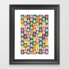 Artoo Pattern Framed Art Print