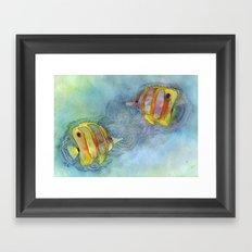 Plenty More Fish in the Sea Framed Art Print