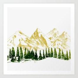 mountain # 8 Art Print