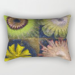 Methylator Structure Flowers  ID:16165-011604-36970 Rectangular Pillow