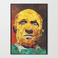pablo picasso Canvas Prints featuring Pablo Picasso by Smith Smith