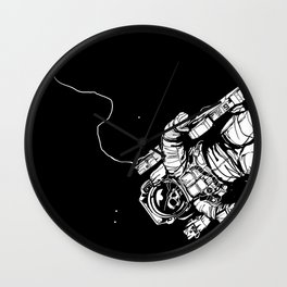 Lost in Eternity II Wall Clock
