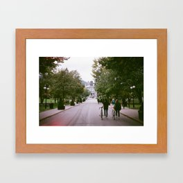 McGill Framed Art Print