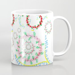 12 days of Christmas-Holly & Wreaths Coffee Mug