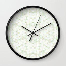 Ghost Kaleidoscope (Citrine) Wall Clock