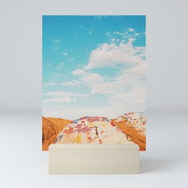 Salvation Mountain, California Mini Art Print