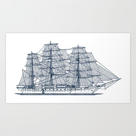 Big Sailing Ship by sanches812