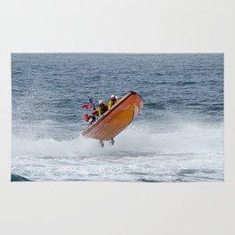 Lifeboat jump Rug