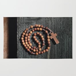 Roman catholic rosary Rug
