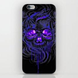Purple Nurpel Skeletons iPhone Skin