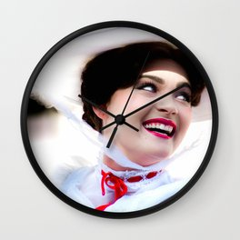 MARY POPPINS - SMILING Wall Clock