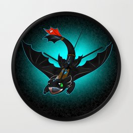 How To Train You Dragon 2- Toothless Wall Clock