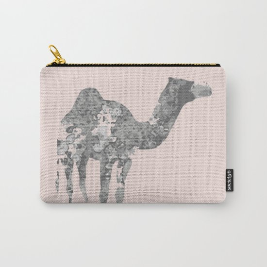 Camel wall art Carry-All Pouch