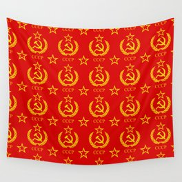 USSR Wall Tapestry
