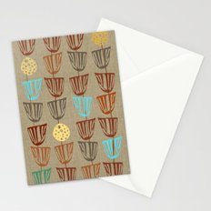 Pods and Seeds 2 on Linen Stationery Cards
