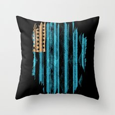 Argyle Never Existed Throw Pillow