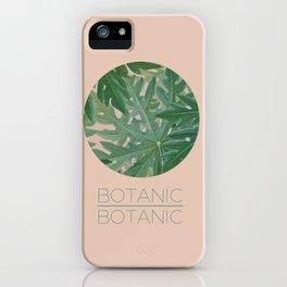 BOTANIC BOTANIC iPhone Case