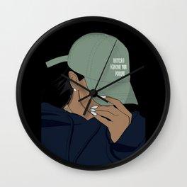 Rude Girl Wall Clock