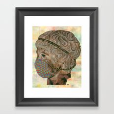 We're Doin' Just Fine, Thanks. Framed Art Print