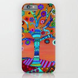 MHURI TREE OF LIFE iPhone Case
