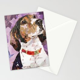 Delilah The Treeing Walker Coonhound Stationery Cards