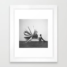 Detonate Framed Art Print
