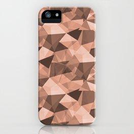 Abstract Geometrical Triangle Patterns 4 Pratt and Lambert Earthen Trail 4-26 iPhone Case