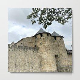 City of Carcassonne Metal Print