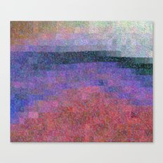 Lakeside Abstract Canvas Print