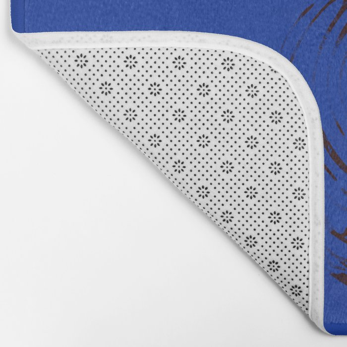 Solo (Blue) Bath Mat