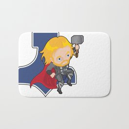 Thunder Warrior Bath Mat