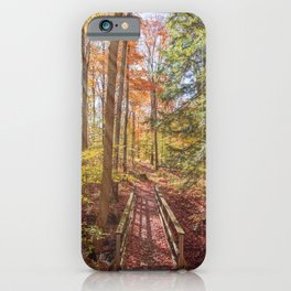 Forest Bridge iPhone Case