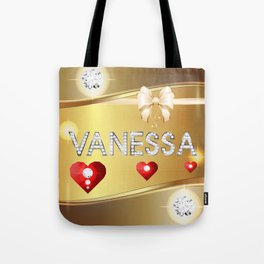 Vanessa 01 Tote Bag