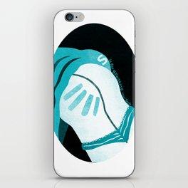 KinkyABC S is for Spanking iPhone Skin
