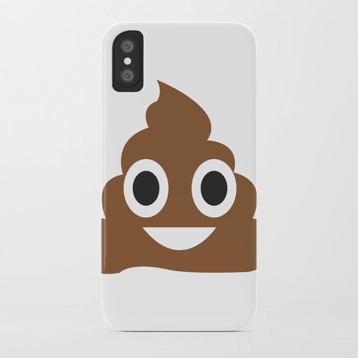 A little poop emoji! iPhone Case