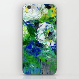Abstract Floral - Botanical iPhone Skin