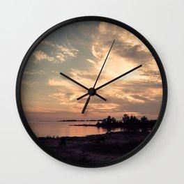 South Bruce Dusk Wall Clock