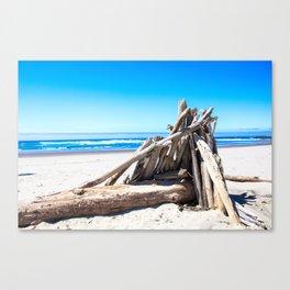Drift wood Fort Canvas Print
