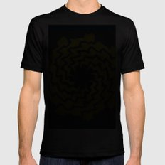 Wriggle Wroom SMALL Mens Fitted Tee Black