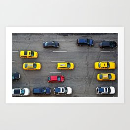 NYC Traffic Art Print
