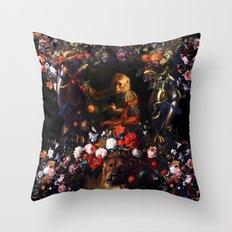 Prince Monkey Throw Pillow