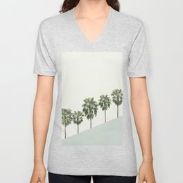 Palm Trees 4 Unisex V-Neck