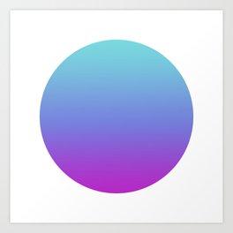 07 Round Art Print