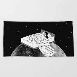 Healing Night Beach Towel