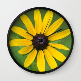 Rudbeckia Flower Wall Clock