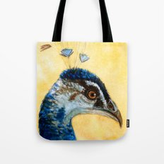 Indian Peafowl 721 Tote Bag